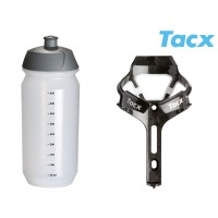 TACX Košík TACX Ciro + Láhev Shiva 0,5l